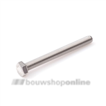 Hoenderdaal tapbout rvs (a2) M8x40 mm din 933 a2