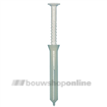 Don-Quichotte speedpluggen voor plint met nagel 5x45 mm[200] SPP bruin