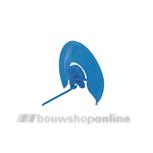 GB isolatie-lipclips 80 mm[1.000x] blauw 34210