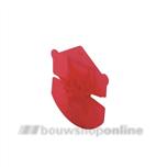 GB isolatie-Uniclips 65/75mm[1.000x] rood 341300