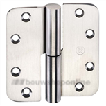 Slim-line paumel rvs rnd 100 mm (knoop 16) rdbb887std2