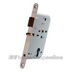 Nemef centraal insteek deurslot 60 mm draairichting 2 649/47