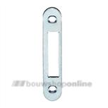 Nemef p4915/12 meerpunt sluitplaat tbv. bijslot silver
