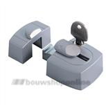 axa oplegslotje 3015-00-90g aluminium binnendraaiend stomp