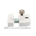 axa 3015-00-98g oplegslotje wit binnendraaiend stomp
