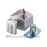 axa 3012-20-90g oplegslotje aluminium buitendraaiend (gelijksluitend)