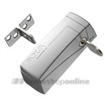 axa 3016-00-90g oplegslotje aluminium automatisch (gelijksluitend)