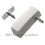axa 3016-00-98g oplegslotje wit automatisch (gelijksluitend)