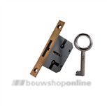 JuNie® meubelslot insteek 25 mm met 1 sleutel 668
