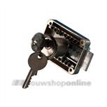 JuNie® meubelslot opleg met cilinder gelijksluitend 2828-mn-ka