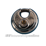 dulimex discus hangslot 70 mm rvs dx-hsd 070b kd