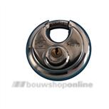 dulimex discus hangslot gelijksluitend 90 mm rvs dx-hsd 090b ka