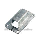 Nemef staafgeleider voor espagnolet 13x13mm (13v-13vp)