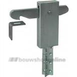 gb deurvastzetter dook- vloerbevestiging (vd) verzinkt