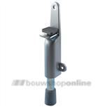 kws deurvastzetter gelakt 210 mm 1026.02 zilver