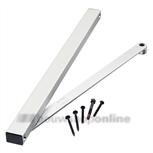 Geze glijarm voor Geze TS5000 L zilverkleur 25655