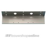 dorma hoekconsole voor dorma ts83 aluminium kleur
