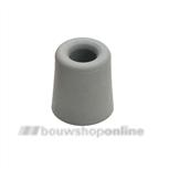 Berdal deurbuffer grijs 25 mm rubber, conisch