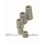 Berdal deurbuffer grijs 75 mm rubber - conisch