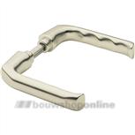 Hoppe 113(p) deurkrukken >49< mm brede duim aluminium F-2