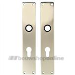 FSB langschilden aluminium rechthoekig met cilindergat 72mm 1410 pz F-2