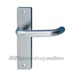 Hoppe 138l/228rf deurkruk op schild zonder sleutelgat F-1