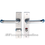Hoppe 138l/228rf deurkruk op schild 63/8 draairichting 4 F-1