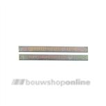 Hoppe krukstift voor 8 x 100 mm 2-delig