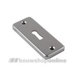 AMI sleutelplaatje rechthoekig aluminium 226402 4rh F-2