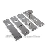 AMI kortschilden aluminium rechthoekig cilindergat 55mm 180/41 F-2