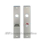AMI vrij en bezet schilden aluminium rechthoekig 57/5 180/41 F-2