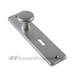AMI knopschild (40) rechthoekig cilindergat 55 mm 180/41