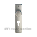 AMI knopschild (40 mm) rechthoekig cilindergat 72 mm 180/41