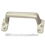 Hermeta raamgreep aluminium anodiseerd 110 mm rondmodel 4550-02