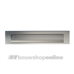 AXA briefplaat aluminium F-1 eloxeerd 325 x 67 mm 6205-33-91