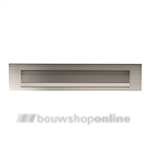 AXA briefplaat aluminium F-2 eloxeerd 325 x 67 mm 6205-33-92E