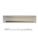 AMI briefplaat aluminium F-1 TA + veer 340 x 73 mm 400043
