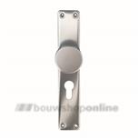 Hoppe langknopschild rechthoekig cilindergat 55 mm 58/202pz F-1