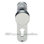Hoppe knopschild aluminium ovaal cilindergat 72 mm 58/300k-pz F-1