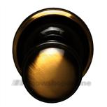 Ferraro voordeurknop glad-rond-55 brons 03832