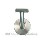 Hermeta leuninghouder aluminium F-2 met tapgat 3501-02