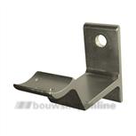 Hermeta leuninghouder aluminium F-2 bandmodel met gat 3543-02