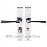 Hoppe 1117/202sp2 deurkruk op schild vrij en bezet 63/8 mm F-1
