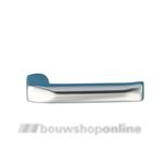 HOPPE 113 gatdeel deurkruk 651337 London brede duim aluminium F-1