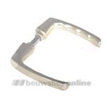 HOPPE 107V gatdeel deurkruk 4908673 blokmodel aluminium F-2