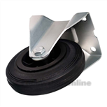Bokwiel rubber 80 mm 301082126000