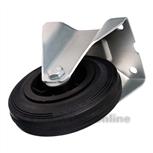 Bokwiel rubber 100 mm 301102126000