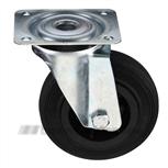 Zwenkwiel rubber 80 mm 201082126000