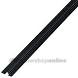 Trola rollerrailprofiel enkel 3000 mm infrees 1303 zwart