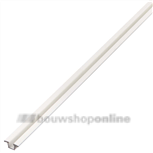 Trola rollerrailprofiel enkel 3000 mm infrees 1303 wit
